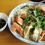 螃蟹米粉(懶人午餐)