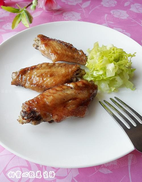 红酒黑椒微波烤鸡翅