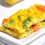 杂蔬蛋饼(3分钟即成的多维早餐蛋饼)