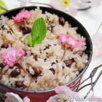 樱花红豆糯米饭(花样主食)
