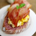 培根鸡蛋卷(只要五分钟的营养美味早餐)