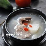 枸杞山药排骨汤(荤菜)