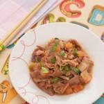 番茄羊肉片(家常儿童餐)