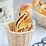 紫薯麻花包(早餐菜谱)