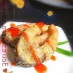 黑椒茄酱鱼块(荤菜)