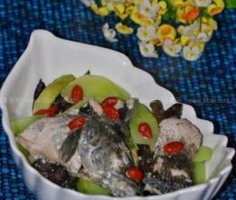 黑鱼莴苣汤