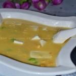 咸蛋黄豆腐(素菜)