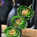 烤韭菜(春季养生菜)