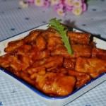 茄汁杏鲍菇(素菜)