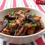 蚝油香菇蒸鸡(荤菜)