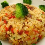 叉烧肉炒饭(早餐菜谱)