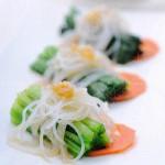 菠菜拌粉丝(凉菜)