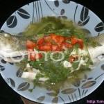 泰式蒸鲈鱼(清蒸菜)