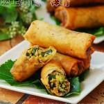 三鲜素春卷(早餐菜谱)