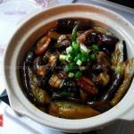 螺肉茄煲(荤素搭配)