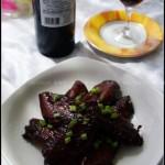 红酒鸡翅(荤菜)
