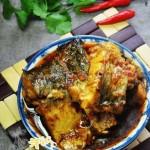 辣烧鱼块(荤菜)