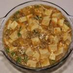 蟹粉豆腐(素菜)