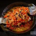 剁椒蒸鱼(清蒸菜)