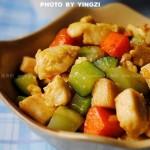 雜蔬雞丁(葷素搭配)