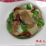 魔芋牛肉(荤素搭配)