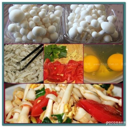 蛋香白玉菇