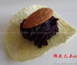 杏仁紫薯片