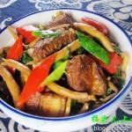 排骨茶树菇煲(荤素搭配)