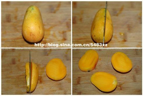 芒果的正确切法(生活窍门)的做法步骤
