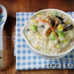 7分钟熬出一锅菌香杂蔬粥(10分钟早餐系列)