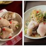 白云猪手和沙姜猪手(荤菜)