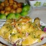 姜葱鸡(荤菜)