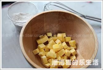 朗姆蛋黄小饼