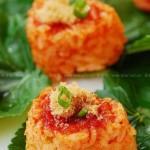 泡菜烤饭团(花样主食)