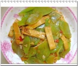 莴苣炒香干