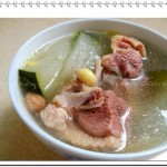冬瓜煲老鸭汤(荤菜)