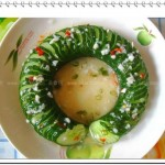 醋溜蓑衣黄瓜(凉菜)