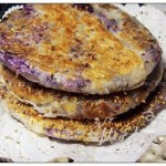 紫薯薄饼(早餐菜谱)