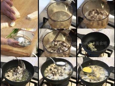 鲜蚝烩豆腐和南瓜枣泥卷