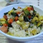 莴苣叶炒饭(早餐菜谱)
