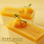 黄桃免烤布丁(甜品)