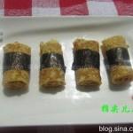 紫菜肉松蛋卷(十分钟的午餐)