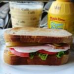 黑麦三明治(早餐菜谱)