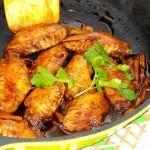 可乐姜焖鸡翅(荤菜)