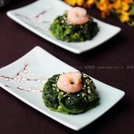芥末菠菜墩(节后清肠小食)