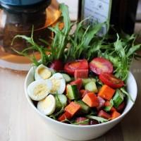 橄榄杂菜沙拉