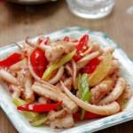 姜葱鱿鱼卷(海鲜家常菜)