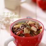 丁丁炒面(新疆餐厅最受欢迎的面食)