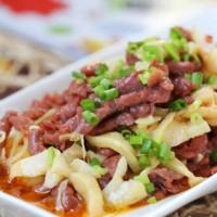 红笋炒牛肉