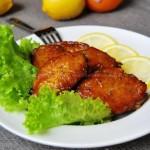 柠檬香草烤鸡翅(荤菜)
